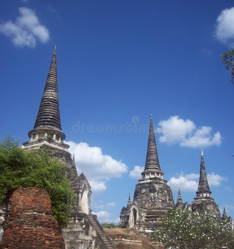 Wat Prasrisanpech 图库摄影