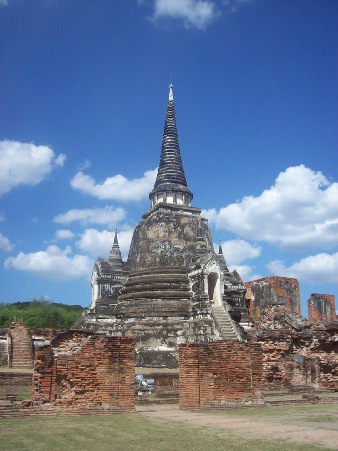 Wat Prasrisanpech 免版税库存图片