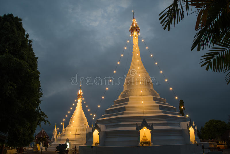Wat Prathat Doi Kong Mu royalty free stock images