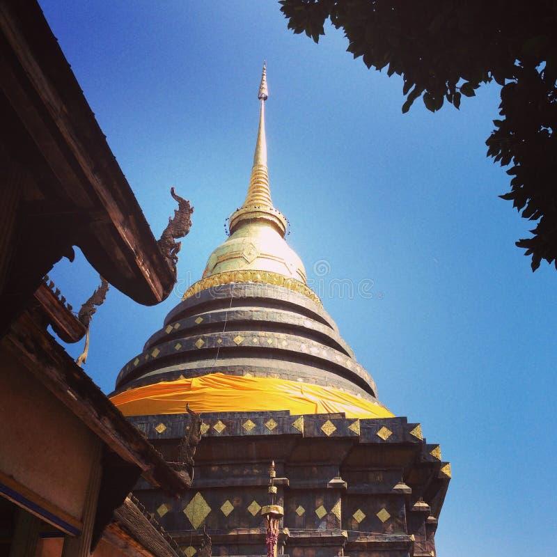 Wat Prathat Lampang Luang foto de archivo