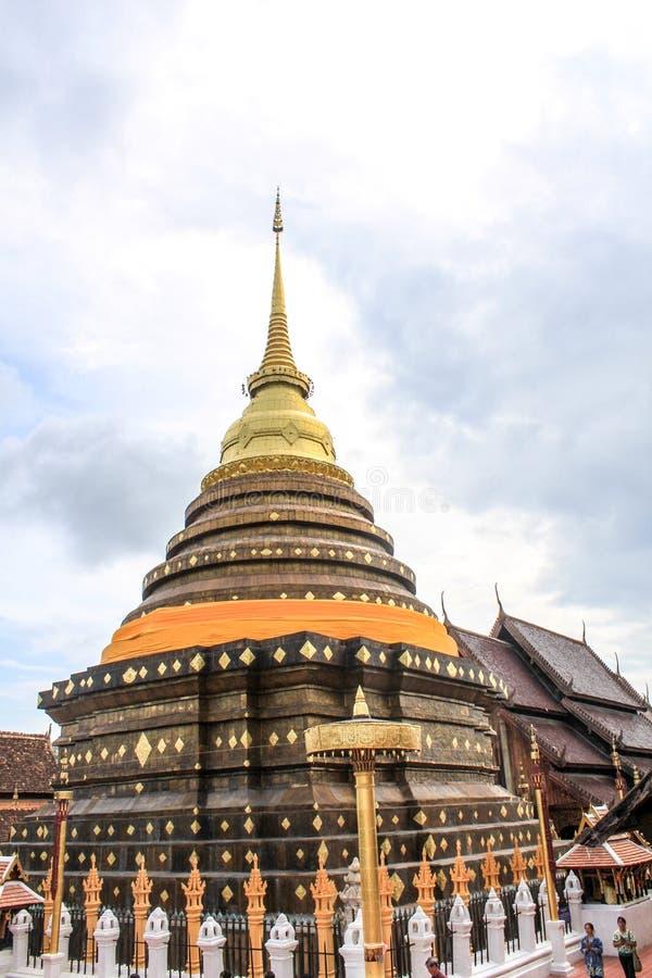 Wat Prathat Lampang Luang стоковые изображения rf