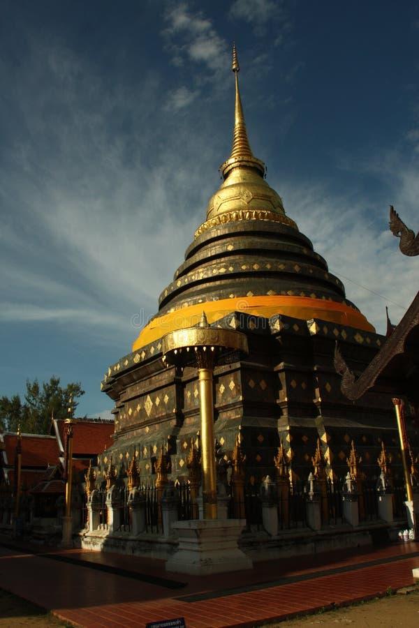 Wat Prathat Lampang Luang en al norte de Tailandia imagen de archivo libre de regalías