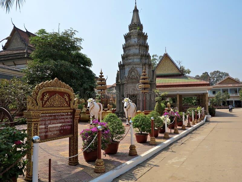 Wat Preah正式舞会Rath 库存照片
