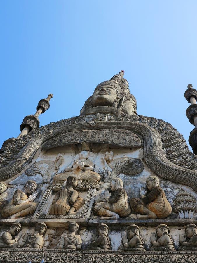 Wat Preah正式舞会Rath 库存图片