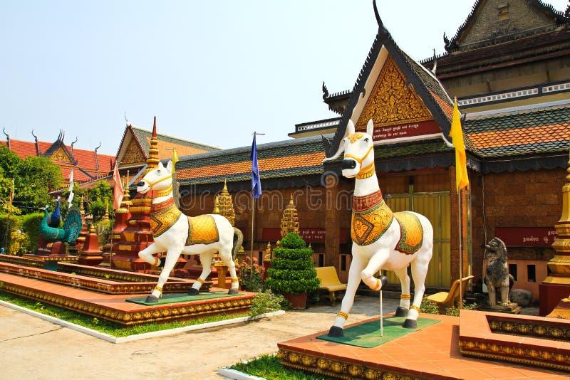 Wat Preah Prom Rath stock foto