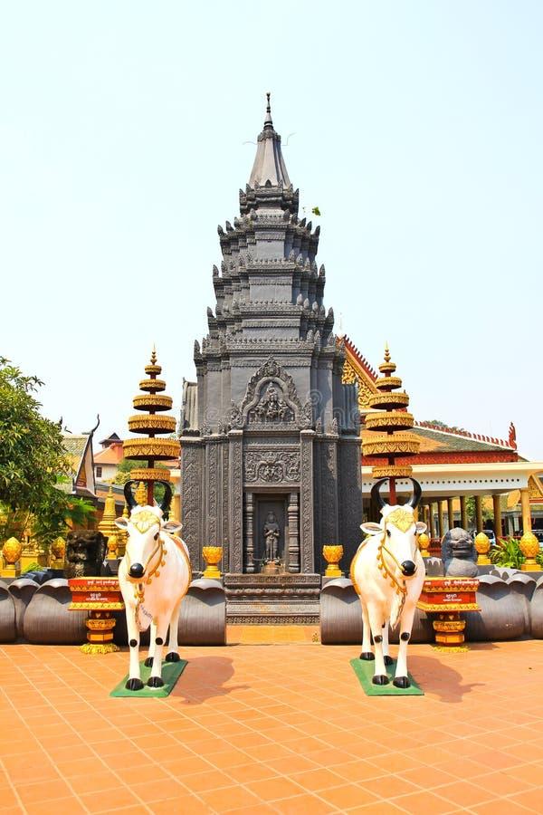 Wat Preah Prom Rath stock afbeeldingen