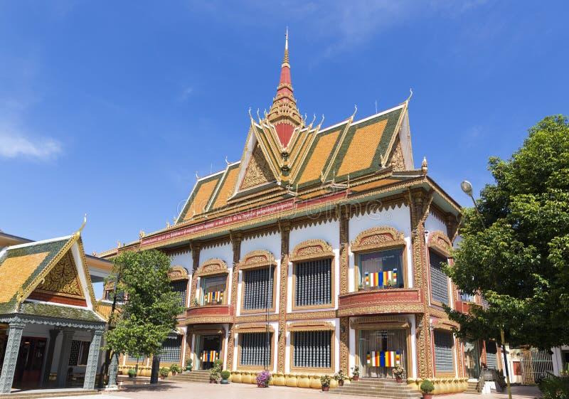 Wat Preah Prom Rath in Siem oogst stock foto