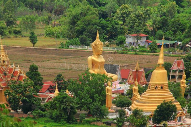 Wat Rajabhat Hiranyaram in Phitsanulok stockfotografie