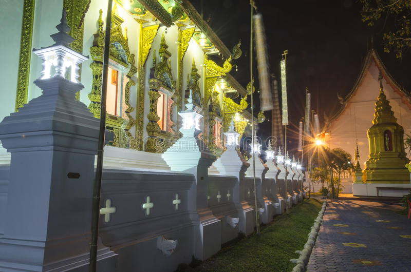 Wat Rampoeng imagen de archivo libre de regalías