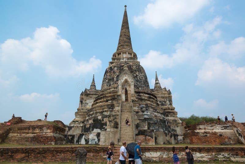 Wat Ratchaburana foto de archivo libre de regalías