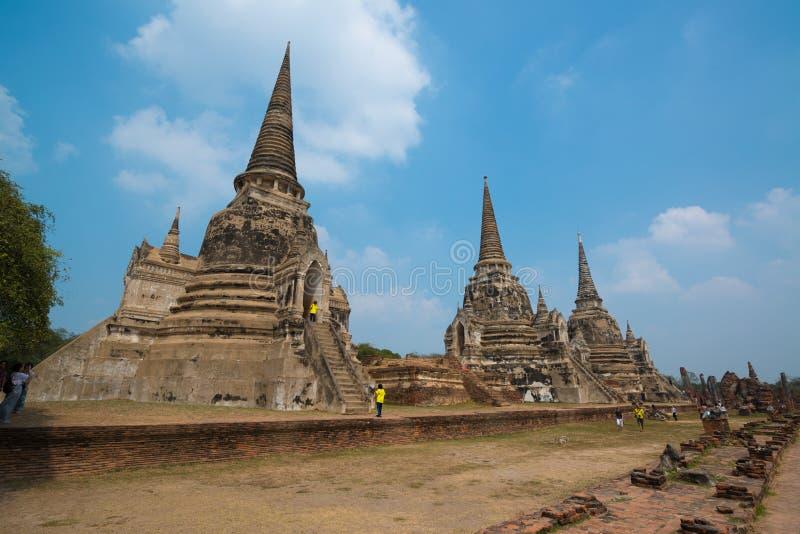 Wat Ratchaburana fotografía de archivo