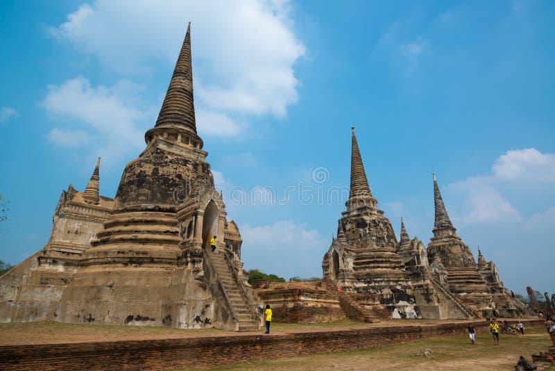 Wat Ratchaburana imagen de archivo libre de regalías