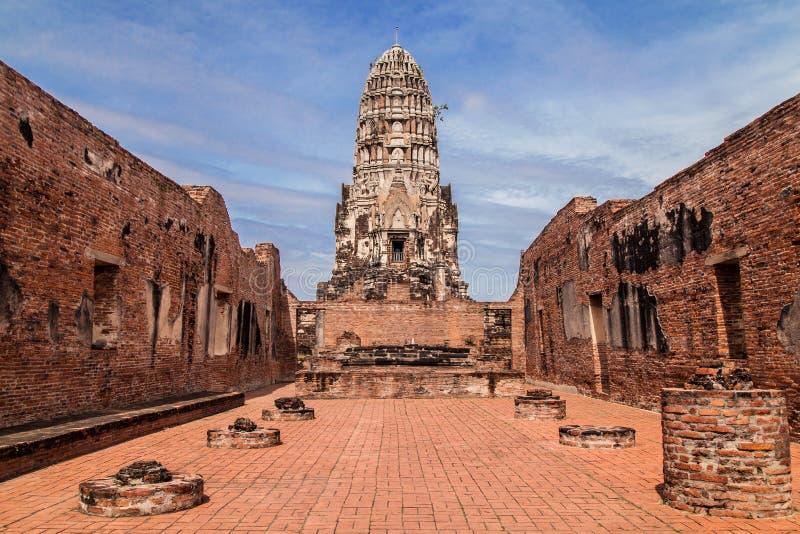Wat Ratchaburana en Ayutthaya fotos de archivo libres de regalías
