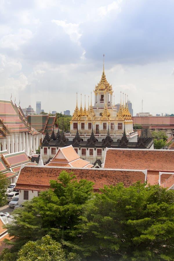 Wat Ratchanatdaram imagens de stock