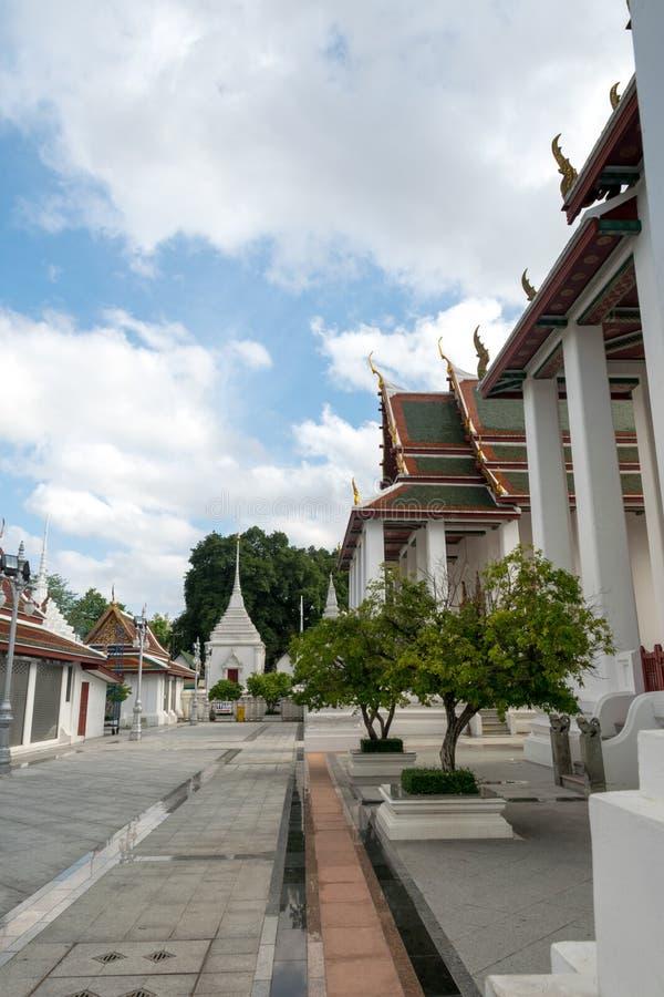Wat Ratchanatdaram Worawihan, Bangkok, Thaïlande photographie stock