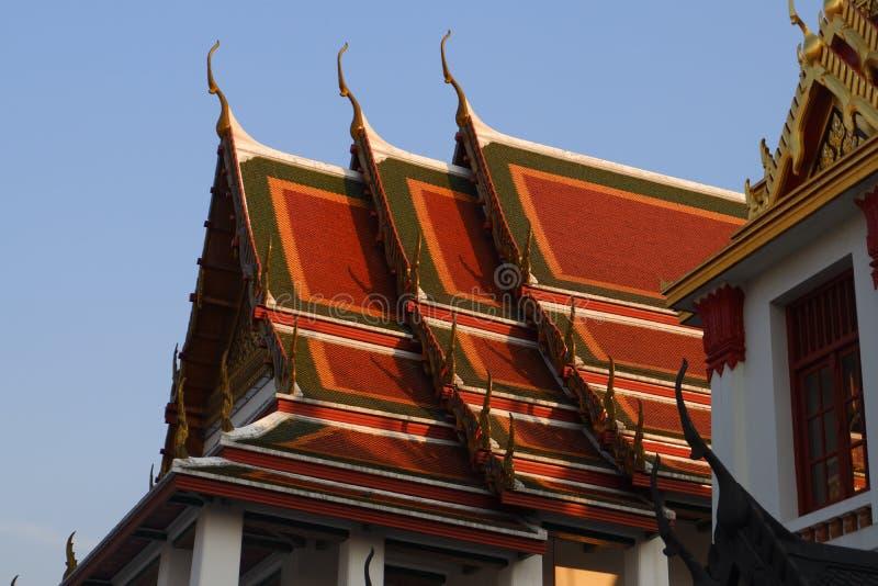 Wat Ratchanatdaramn, Bangkok, Tailandia fotografía de archivo libre de regalías