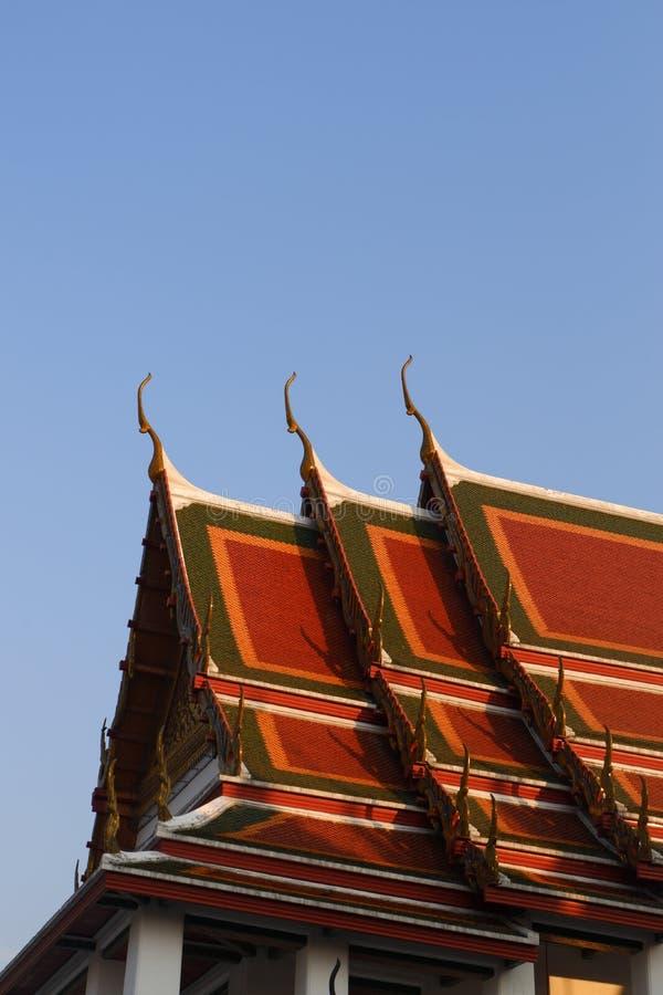 Wat Ratchanatdaramn Bangkok, Thailand royaltyfria bilder