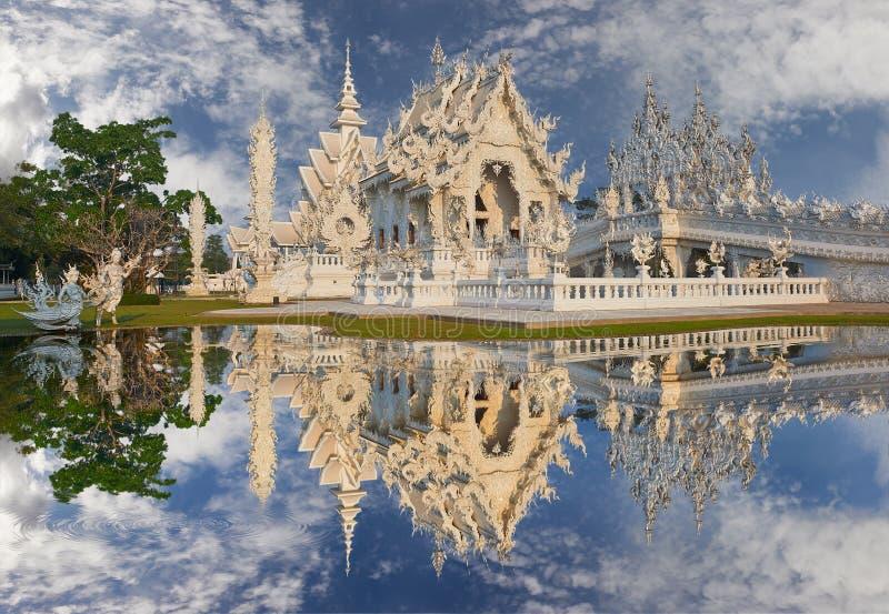 Wat Rong Khun, Chiangrai,泰国 库存图片