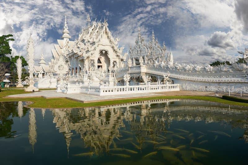 Wat Rong Khun, Chiangrai,泰国 免版税图库摄影