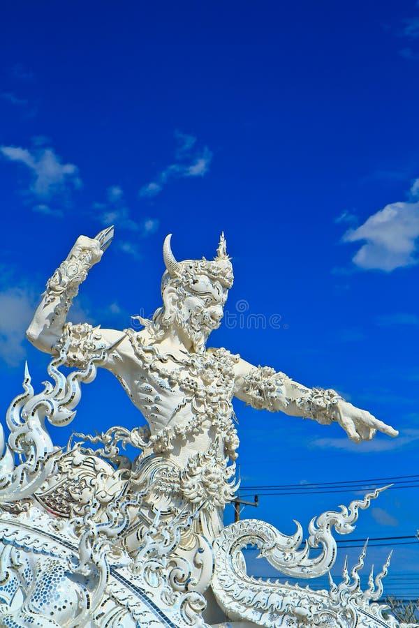 Wat Rong Khun 库存照片