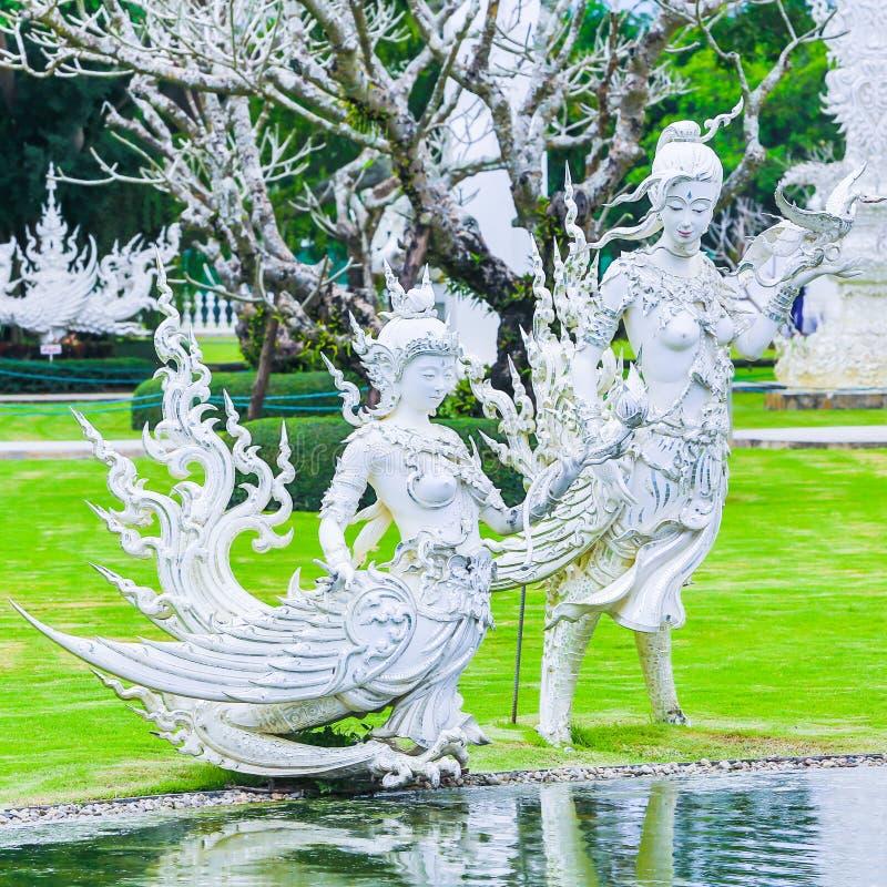 Wat Rong Khun foto de archivo libre de regalías