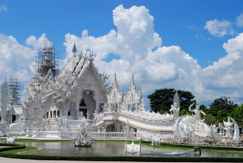 Wat Rong Khun image libre de droits
