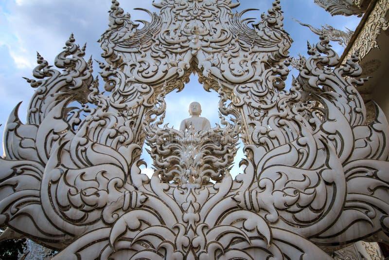 Wat Rong Khun 2 stockfotos