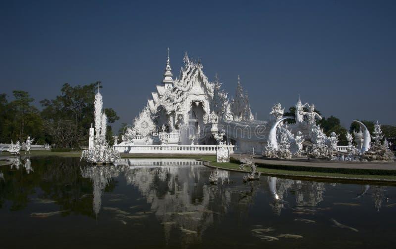 Wat Rong Khun royalty-vrije stock foto's