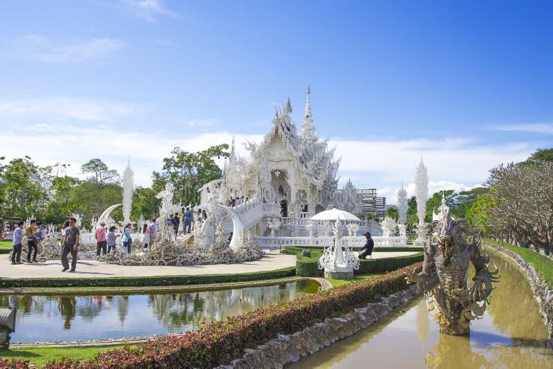Wat Rong Khun, Chiang Rai, Tha?lande photos stock