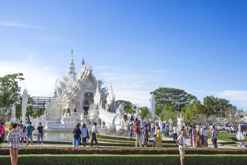 Wat Rong Khun, Chiang Rai, Tha?lande photo stock