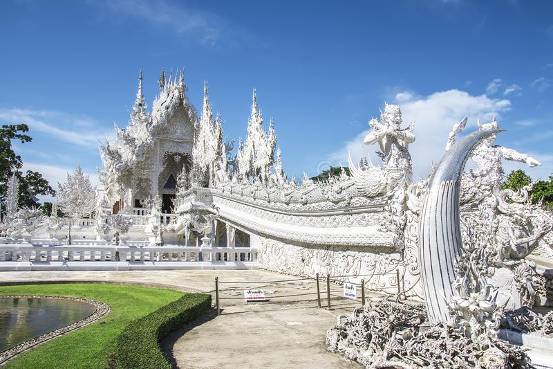 Wat Rong Khun, Chiang Rai, Tha?lande photographie stock libre de droits