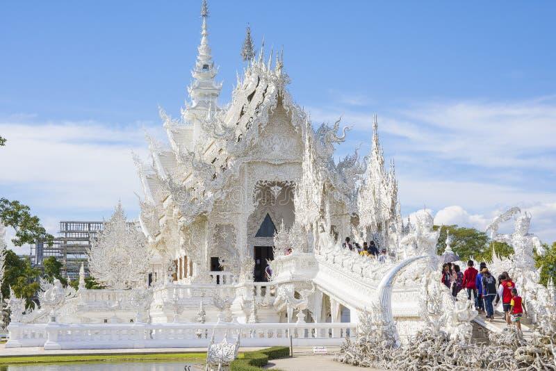 Wat Rong Khun, Chiang Rai, Tha?lande photographie stock