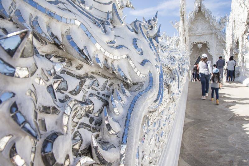 Wat Rong Khun, Chiang Rai, Tha?lande image stock