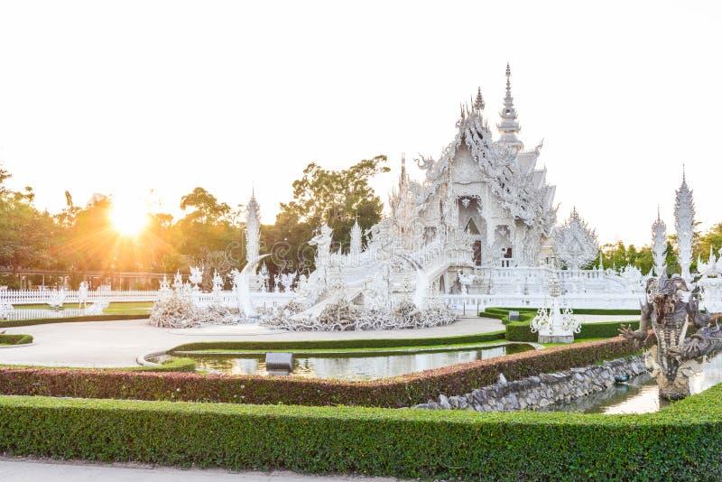 Wat Rong Khun, Chiangrai, Thailand royalty-vrije stock foto