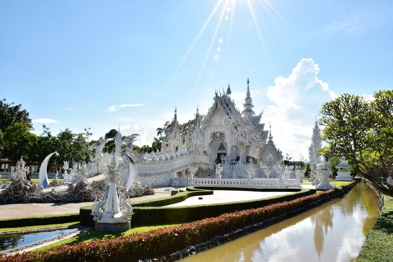 Wat Roung Khun стоковые изображения