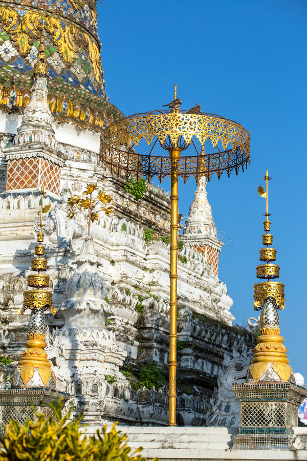 Wat Saen Fang temple in Chiang Mai, Thailand royalty free stock photography