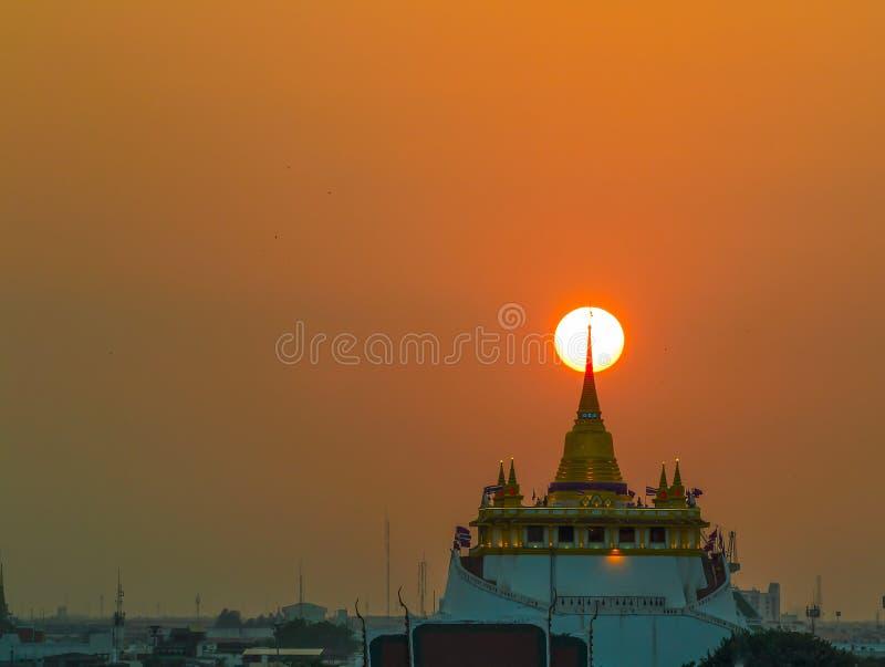 Wat Saket fotografía de archivo