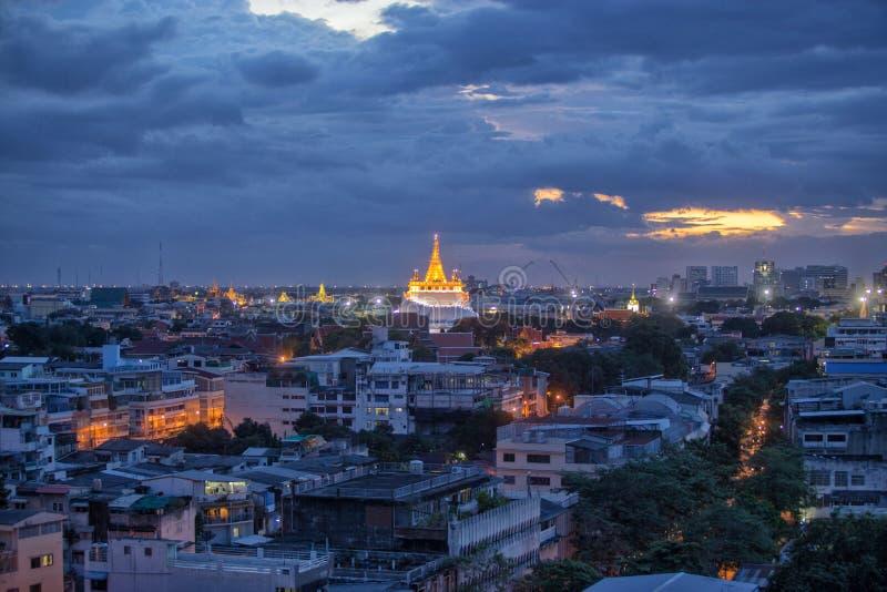 Wat Saket Ratcha royaltyfri fotografi