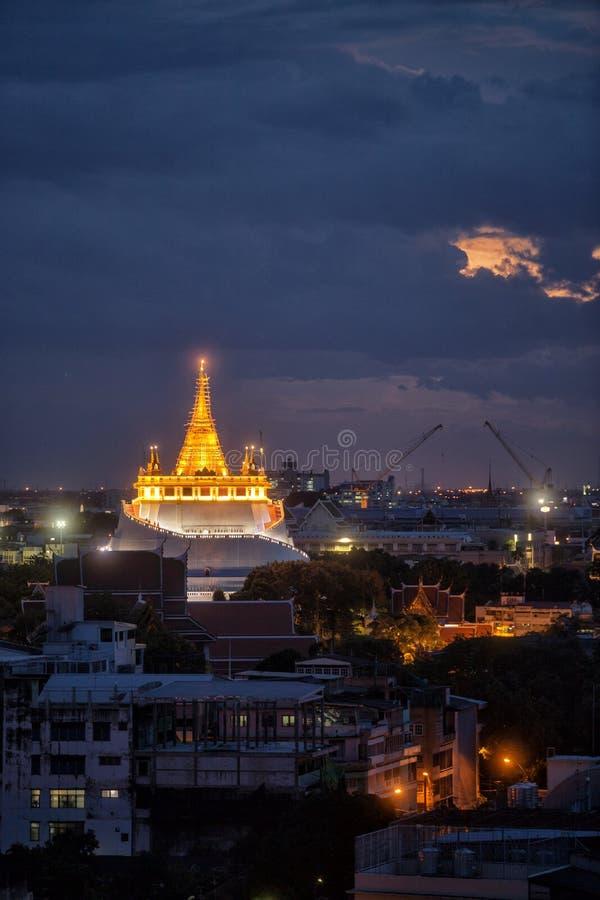 Wat Saket Ratcha fotografering för bildbyråer