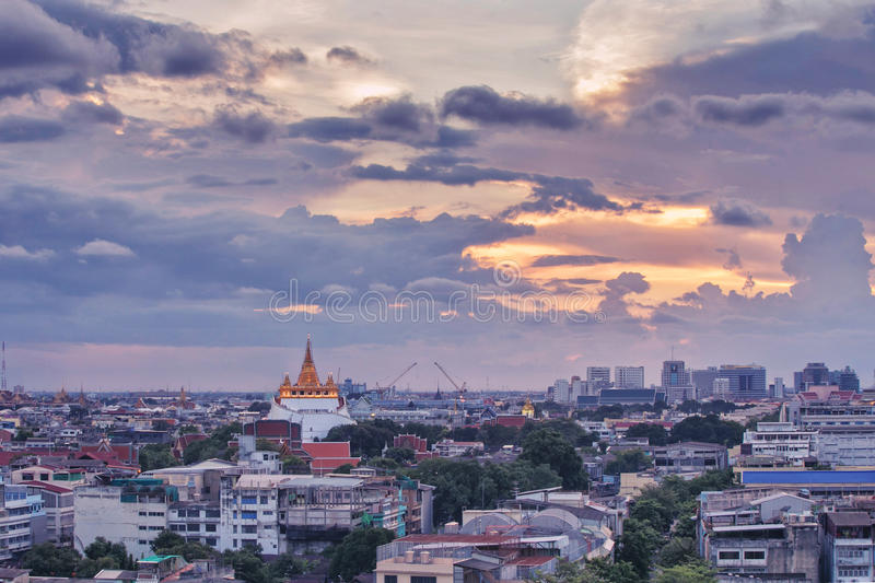 Wat Saket Ratcha immagini stock
