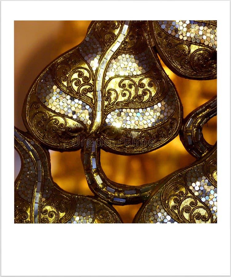 Wat Saket Ratcha Wora Maha Wihan Bangkok arkivfoto