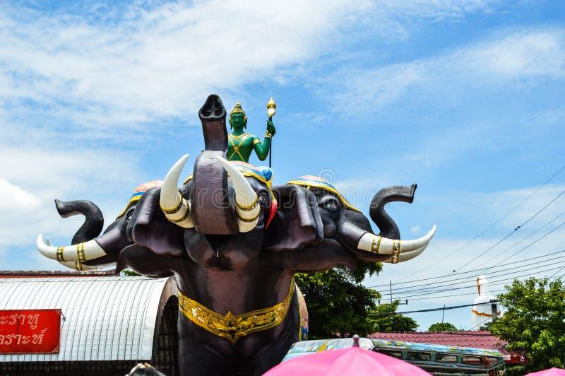 Wat Samarn in Thailand 1 royalty-vrije stock afbeelding