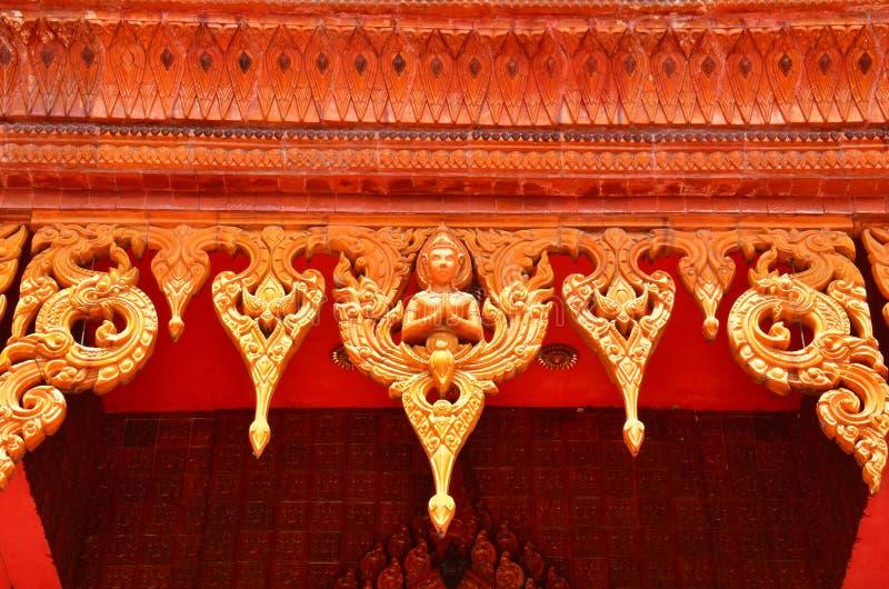 Wat Samma Chanyawat at bangkok stock image