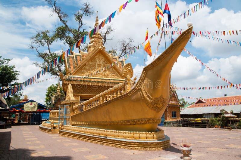 Wat Sampov Treileak in Phnom Penh, Kambodscha stockfoto