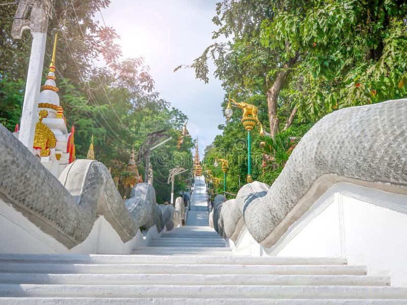 Wat Sangkat Rattana Khiri, Uthai Thani, Таиланд стоковая фотография