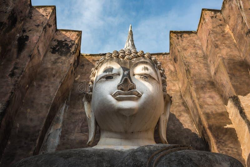 Wat Si密友, Sukhothai,泰国 免版税库存图片