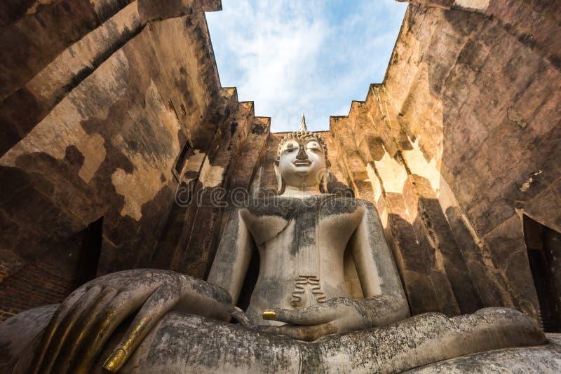 Wat Si密友, Sukhothai,泰国 库存照片