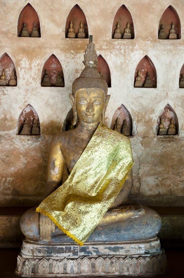 Download Wat Si Saket Buddha - Vientiane Arkivfoto - Bild av staty, historia: 106827360