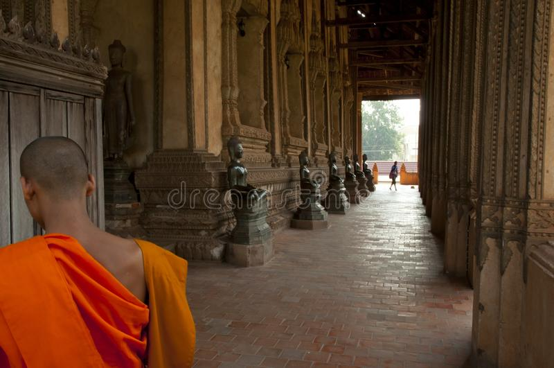 Download Wat Si Saket Buddhas - Vientiane Redaktionell Arkivfoto - Bild av bucolic, bronser: 106827333
