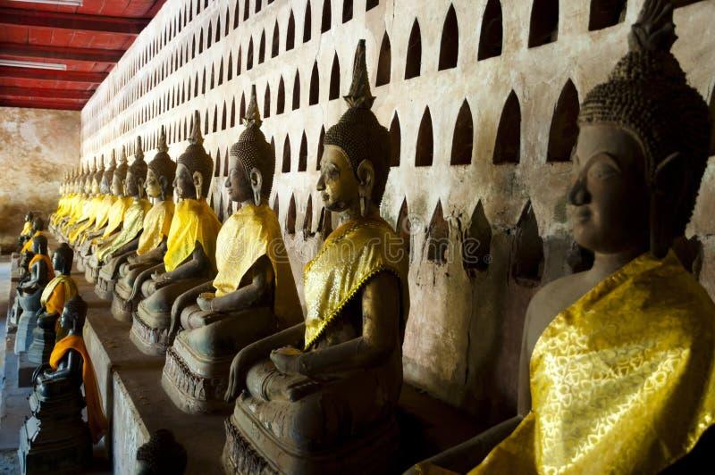 Download Wat Si Saket Buddhas - Vientiane Arkivfoto - Bild av staty, skulptur: 106827354